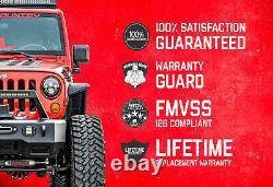 Rough Country 3.5 Lift Kit (fits) 14-18 Silverado Sierra 1500 N3 Struts/Shocks