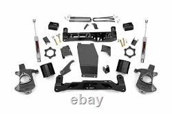 Rough Country 5 Lift Kit (fits) 14-18 Chevy Silverado Sierra 1500 4WD N3 Shocks