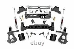 Rough Country 7 Lift Kit (fits) 2014-2018 Chevy Silverado GMC Sierra 1500 2WD