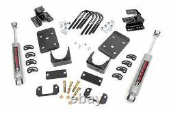 Rough Country Lowering Kit (fits) 2007-2015 Silverado Sierra 1500 2WD N3 Shocks