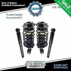 Set 2 Front Complete Struts & 2 Rear Shocks 4pc Fits Chevy Cobalt HHR Pontiac G5