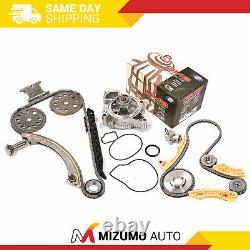 Timing Chain Kit Balance Shaft Water Pump Fit 00-11 Saturn Chevrolet Pontiac 2.2