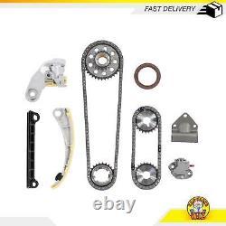 Timing Chain Kit Fits 96-09 Chevy Suzuki 1.8L 2.0L DOHC 16v J20A J18A