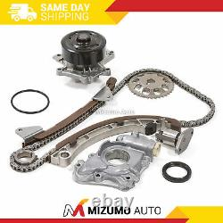 Timing Chain Kit Water Oil Pump Fit 00-08 Chevrolet Toyota Celica Corolla 1ZZFE