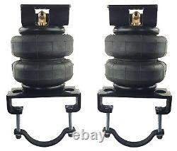 Tow Assist Over Load Bag Air Suspension Kit No Drill Fits 01-10 Chevy 3500 Truck