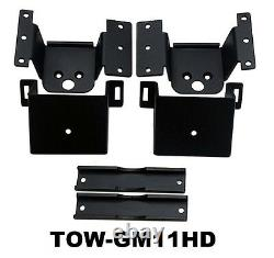 Towing Air Load Level Bag Kit Fits 2011-2017 Chevy 8 Lug Truck Bolt On Rear