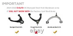 Upper Control Arm For 2-4 Leveling Kit 2014-2018 Chevy Silverado GM Sierra 1500