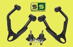 Upper Drop Alignment Control Arms For Drop Kit FITS 07- 16 Silverado Sierra 1500