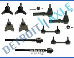 Upper Lower Ball Joint Sway Bar Tierod Kit Colorado 2WD Coil Spring No Z71