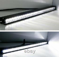 150w 30 Barre De Lumière Led Avec Câblage De Support De Pare-chocs Pour 15+ Gmc Canyon Chevy Colorado