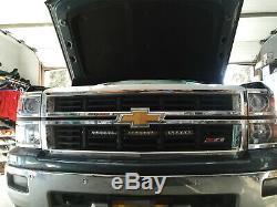 150w 30 Cree Led Light Bar Avec Derrière Grille Support, Câblage Pour Chevy Silverado