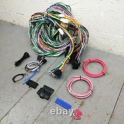 1949 1954 Chevy Wire Harness Upgrade Kit S'adapte Indolore Fuse Bloc Nouvelle Mise À Jour