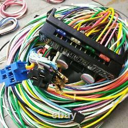 1960 1987 Chevy Truck Wire Harness Upgrade Kit S'adapte Sans Douleur Fusible Compact Nouveau