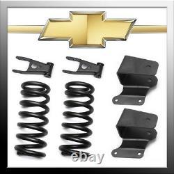 2 Avant 4 Arrière Abaissement Drop Kit Pour 88-98 Chevy Silverado C1500 2wd