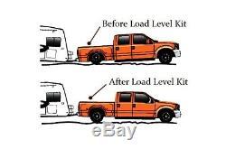 2007-18 Chevy 1500 Remorquage Aide À Plus De Charge De Suspension De Sac Gonflable Blanc Jauge De Contrôle