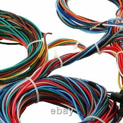 21 Circuit Wiring Harness Hotrod Universal Kit Fit Chevy Mopar Ford Jeep Hotrods