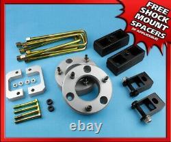 3.5 F + 2 R Lift Kit Fits 07-20 Silverado Sierra 1500 6 Lug Shock Extension