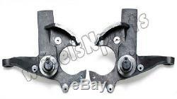 3 De Levage Avant Fuseaux Kit Convient Chevy S10 Gmc Sonoma 2rm S15 Suspension Truck