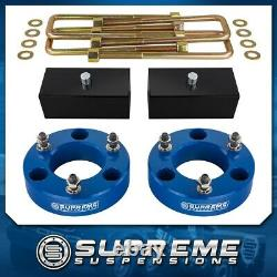 3 Full Suspension Lift Kit Fits 2007-2020 Chevy Silverado 1500 Angle Arrière Cales