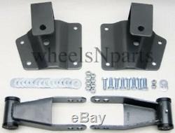 4 Goutte Kit Arrière Manilles Et 1999-1906 Chevy Hangers Fits Silverado Gmc Sierra 1500