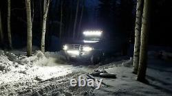 50 Led Light Bar Courbé +20'' Lampe + 4x Pods Kit Pour Chevy Silverado/gmc Sierra