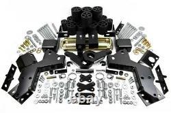 6 Avant + 4,5 Pouces Arrière Lift Leveling Kit Convient 95-98 Chevrolet K1500 4x4 Pro