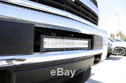 96w Led Light Bar Avec Pare-chocs Bas Support, Câblage Pour 15 Jusqu'à Silverado 2500 3500