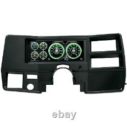 Autometer Direct Fit LCD Digital Dash Kit Invision Pour 1973-1987 Gm Trucks Vus