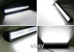 Barre Lumineuse Led 120w 20 Avec Support De Montage/câblage Pour 11-14 Silverado 2500/3500hd