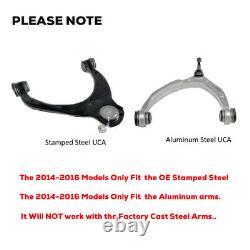 Bras De Commande Supérieur Pour Kit De Nivellement 2-4 2014-2018 Chevy Silverado Gm Sierra 1500