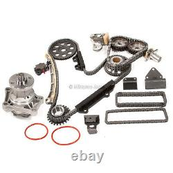 Calendrier Chain Kit Water Pump Fit 99-08 Suzuki Chevy 2.5 2.7 H25a H27a