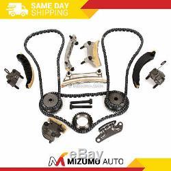 Chaîne De Distribution Kit Fit 07-16 Buick Pontiac Cadillac Srx Sts Saab Suzuki 3.6 24v