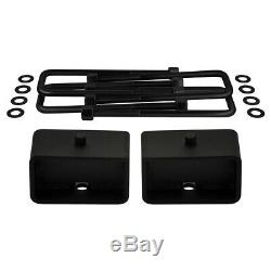 Chevy Gmc Fits 07-20 Silverado Sierra 1500 3.5+ 3 Lift Kit Complet 2rm 4 Roues Motrices 6-lug