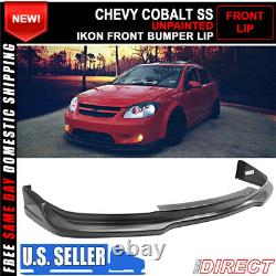 Convient 05-10 Chevy Cobalt & 17-10 Pontiac G5 Ikon Front Bumper Lip Splitter Pu