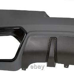 Convient 14-15 Chevrolet Camaro Z28 Spring Edition Arrière Diffuseur De Couvercle De Pare-chocs Inférieur