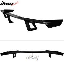 Convient 16-20 Chevy Camaro 2 Portes Zl1 1le Brillant Coffre Noir Spoiler Wing Abs