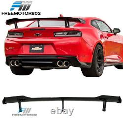 Convient 16-20 Chevy Camaro Zl1 1le Style Glossy Black Trunk Spoiler Abs