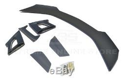 Convient 16-up Chevrolet Camaro Zl1 1le Style Black Primer Arrière Du Coffre Aile Spoiler