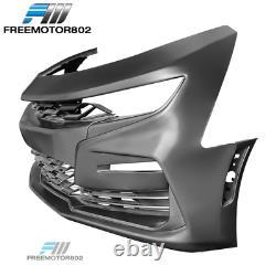 Convient 19-21 Chevy Camaro Ss Style Avant Bumper Conversion Non Peint Pp