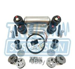 Convient 1965-1974 Ford Galaxie Voiture Air Ride Suspension Système De Réduction Kit