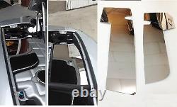 Convient Corvette C5 1997-2004 Inox Inner Fender Covers 2 Pc Kit Moteur Chrome