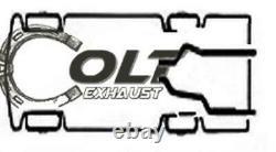 Dual 2.5 Mandrel Exhaust Performance Kit Fits 1996-1999 C / K Pick-up