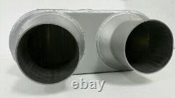 Dual Pipe Conversion Exhaust Kit S'adapte Chevy C / K 1500 / 2500