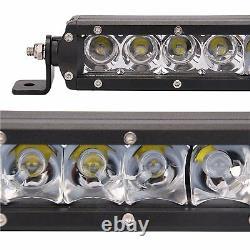 Fit 15-20 Gmc Canyon Chevy Chevy Colorado Z71 Zr2 Pare-chocs 31 Led Kit De Montage À La Barre De Lumière Led