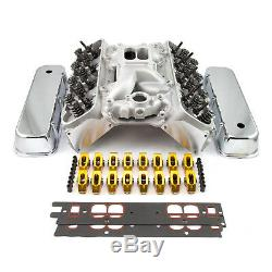 Fit Chevy Bbc 396 Solide Ft Culasse Top End Combo Kit Moteur