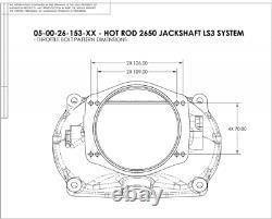 Gm Chevy Ls3 Lsa 6.2l V8 Magnuson Tvs2650r Superchargeur Intercooled Hot Rod Kit