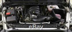 K & N Fipk D'air Froid Admission.système Convient 2019-20 Silverado Sierra 1500 5.3l V8 De 6,2 L