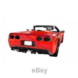 Kbd Body Kits Furtif Polyuréthane Arrière Diffuseur Convient Chevy Corvette C5 97-04