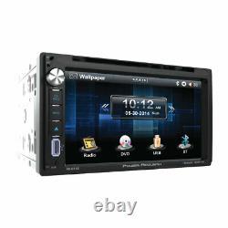 Kit Stéréo Fits Chevy-gmc Truck-van-suv CD DVD Aux Touchscreen Bluetooth