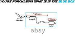 Le Kit D'échappement Du Silencieux De Tuyau De Résonance S'adapte 2006-2011 Chevy Hhr 2.2l
